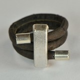 Dark Cork Stick Shape Ring