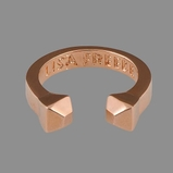 Lisa Freede Rose Gold Stud Ring