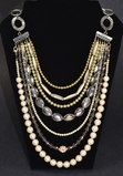 Rita D Multi Strand Necklace