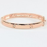 Designer Styled Bracelet Rose Gold Finish